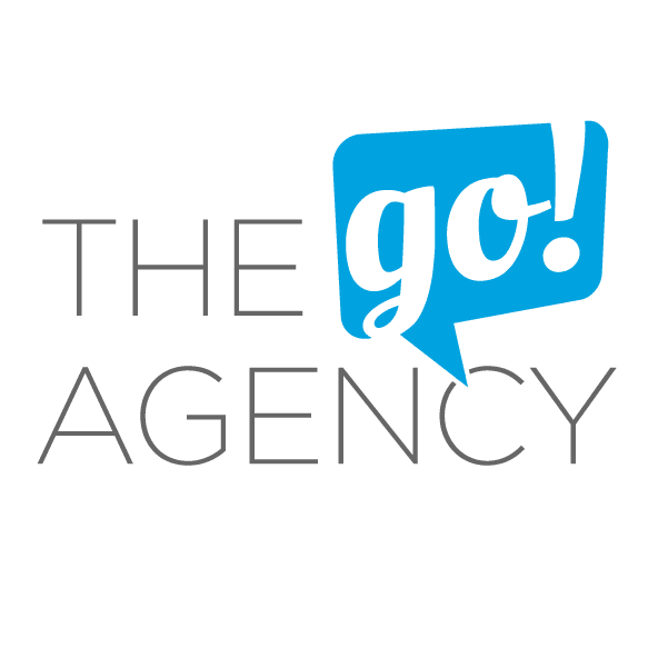 The Go Agency Logo Dark